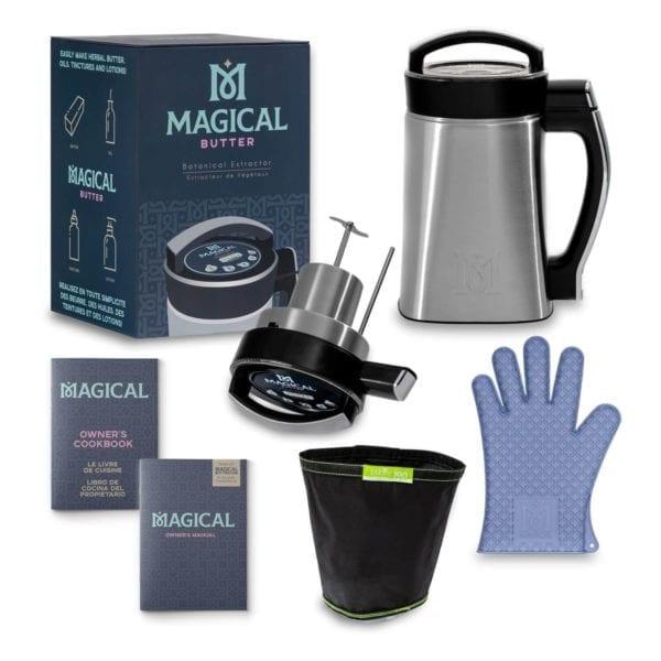 Magical Butter MB2e kit completo de extractor botánico que permite convertir hierbas en mantequilla