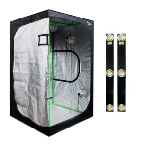 Pack LED Indoor 120×120 – 2 Spectra Slim