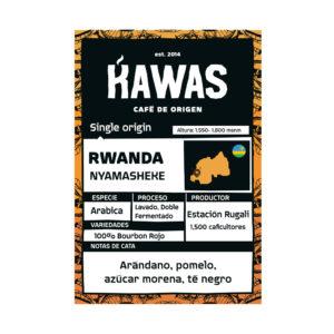 KAWAS – Café Rwanda Nyamasheke Rugali 250 gr